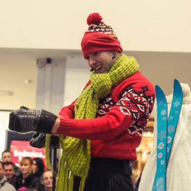 Tinko Brzinko in <br>snežak Žorž