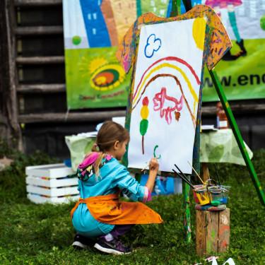 Velikanska slikarska delavnica