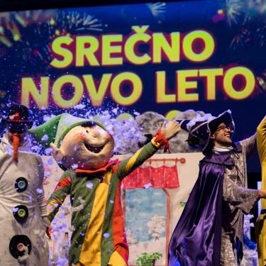 NOVO - Virtualne novoletne predstave